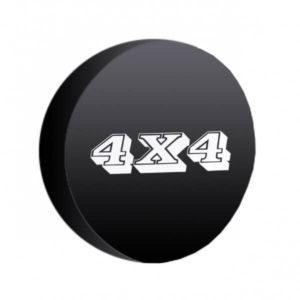 Funda rueda con emblema 4x4
