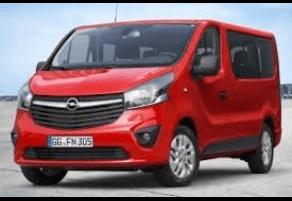 Opel Vivaro 7pl