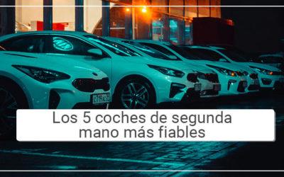 Los 5 coches de segunda mano más fiables